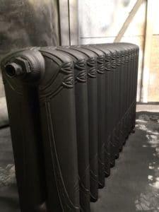 Radiateur belge noir mat