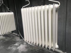 radiateur acier type colonnes RAL 9010