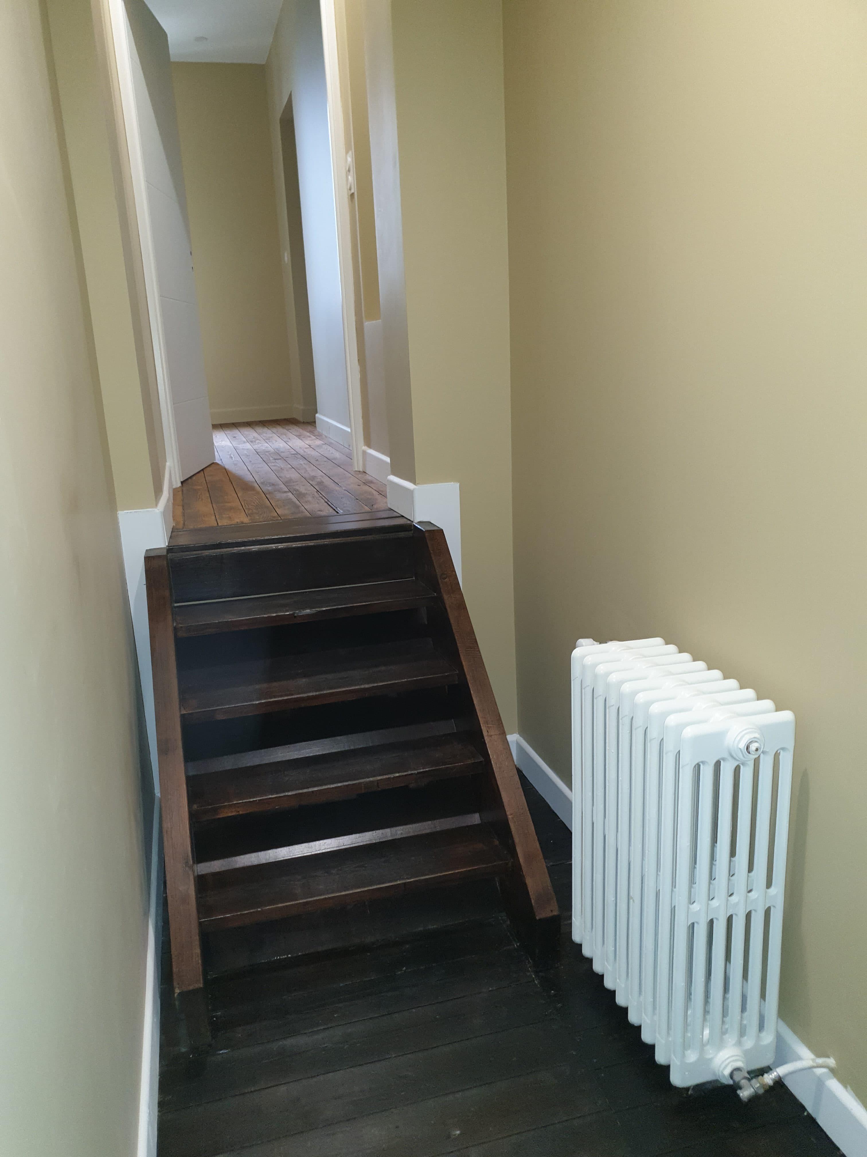 radiateur escalier
